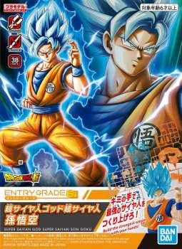 4573102588593 DRAGON BALL - ENTRY GRADE MODEL KIT - SUPER SAIYAN GOD SS SON GOKU