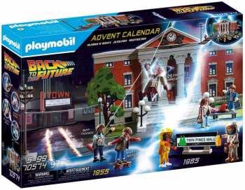 4008789705747 Calendrier De L Avent Playmobil Retour Vers Le Futur