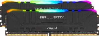 649528824288 Kit 2* 8 Gigas Ddr4 3200 Mhz RGB Crucial Ballistix Gaming