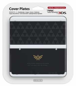 45496510459 Coque Cover Plates New Nintendo 3DS Zelda Noir et Or 3ds