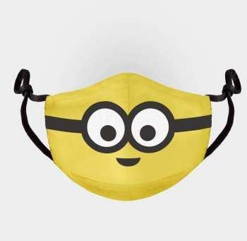 8718526124866 MINIONS - SMILE - MASQUE VISAGE AJUSTABL