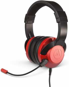 617885021114 Casque Stereo Gaming Fusion - Power-A - Red Crismon Ps4 Xbox Switch Mobile