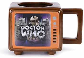 5050574259538 Mug Thermique Doctor Who TC Shaped Heat Reveal Mug