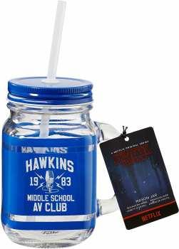882041059991 Mug Stranger Thing - Verre Maison Hawkins 1983 Middle School