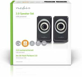 5412810272372 edis Baffles 2.0 USB Powered 3.5 Nedis