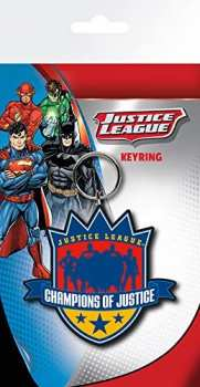 5028486284320 Porte Cle Justice League -champions Of Justice