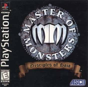 93992094034 Master Of Monster Disciples Of Gaia Ps1