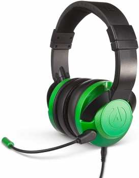 617885021107 Casque Stereo Gaming Fusion - Power-A - Green Ps4 Xbox Switch Mobile