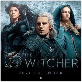 8435497253837 THE WITCHER WILD HUNT - CALENDRIER 2021 '30X30CM'