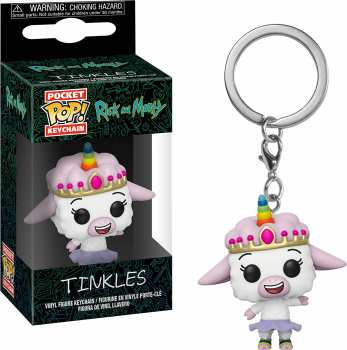 889698359313 Funko Pop Keychain - Rick And Morty Tinkles Porte-cle