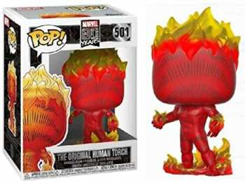 5510107542 Figurine Funko Pop - Marvel 80 Years 501 - The Original Human Torch
