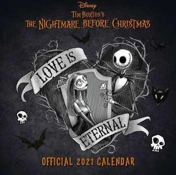 9781838544461 L' Etrange Noël de Mr. Jack calendrier 2021 *ANGLAIS*