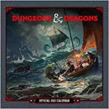 9781838544256 Dungeon & Dragons calendrier 2021 *ANGLAIS*