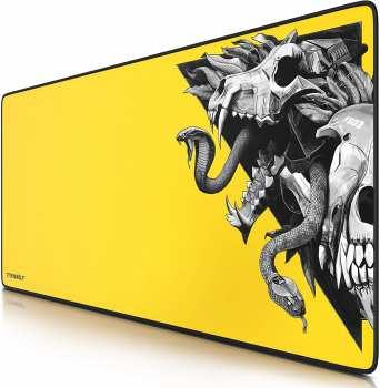 5510107648 Tapis De Souris Titanwolf Wolf Skull Yellow XXL (900cm X 400cm)