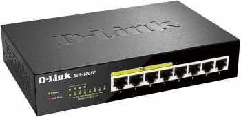 790069344176 Switch 8 PORT Gigabit Poe Desktop Switch DGS-1