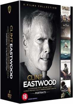 5051889673170 Coffrets Clint Eastwod  Portraits (5 Films Bluray)