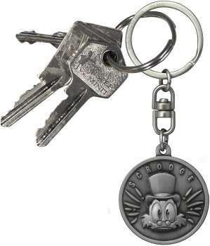 3665361002666 Porte Cle La Bande A Picsou Scrooge Disney