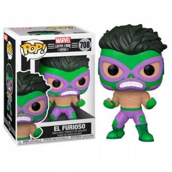 889698538701 Figurine Pop Funko Marvel Lucha Libre El Furioso Hulk 708