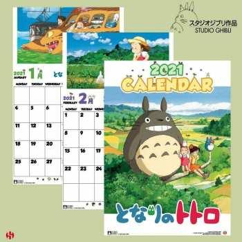 3760226377665 Calendrier 2021 -  Totoro