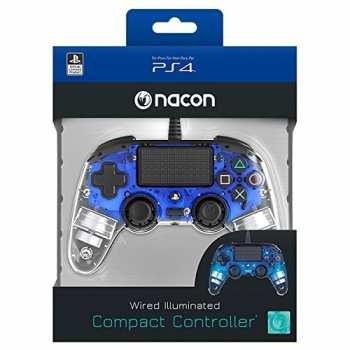 3499550360806 acon Manette Filaire Clear Blue PS4