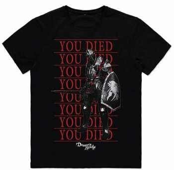 8718526340525 Demon's Soul - You Died -T-shirt Homme XL -MX Textile