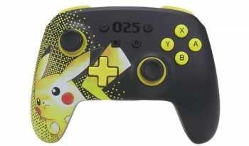617885026799 Manette Switch Pokemon 025 Wireless Pikachu ( Sans Fils Avec Des Bouttons Progr)