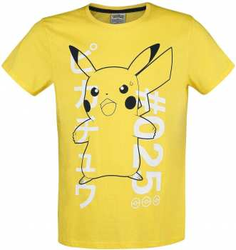 8718526329292 Pokemon Shocked Pika T Shirt Homme Xl