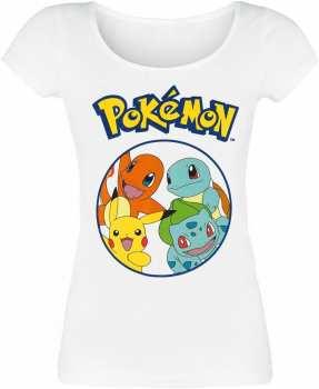 8718526531176 Pokemon T Shirt Starting Characters Girl M