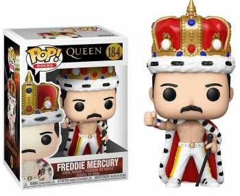 889698501491 Figurine Funko Pop Queen 184 Freddy Mercury King