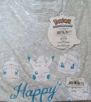 8718526329667 T-shirt  Pokemon Happy Holidays - Taille XL