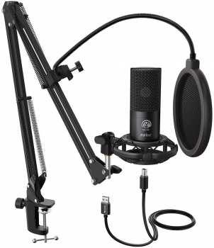 5510108007 Fifine Microphone USB Sur Pied