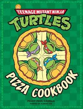 5510108011 Teenage Mutant Ninja Turtles (Tortues Ninja) Pizza Cookbook Livre De Cuisine
