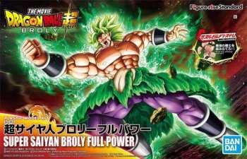 4573102557124 Dragon Ball Super Saiyan Broly Full Power - Model Kit -