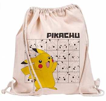 5028486485987 Sac Pokemon Pikachu Sac En Toile Coton 42x37cm
