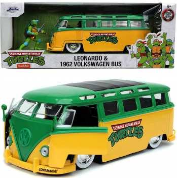 4006333070990 Voiture Tortues ninja - Leonardo and 1962 VW Bus 1:24