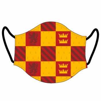 8427934558599 Cache Masque Visage Adulte Harry Potter Gryffondor