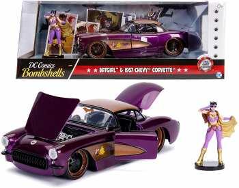 4006333065323 Voiture Corvette Batgirl - Dc Comics Bombshells