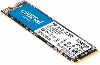 5510108187 Disque Dur SSD Crucial NVME 1TB P2 M2