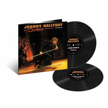 600753893951 Johnny Hallyday - A L Olympia 18 Octobre 1966 33T (3000 ex)