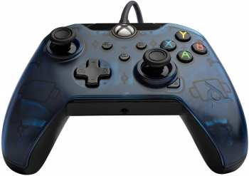 708056067670 Manette Filaire Pdp Gaming Midnight Blue Xbox Series / One / Pc