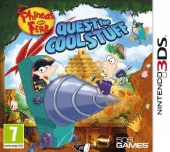 8023171034126 Phineas Et Ferb: Quest For Cool Stuff FR 3DS
