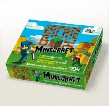 5510108210 Minecraft- Escape Box - Jeux De Cartes - B
