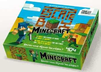 5510108221 Minecraft- Escape Box - Jeux De Cartes