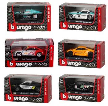 4893993380008 Miniature Voiture  Rally 1:43 Diecast Bburago