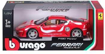 4893993260096 Miniature Voiture Ferrari F430 Fiorano 1 24 Bburago