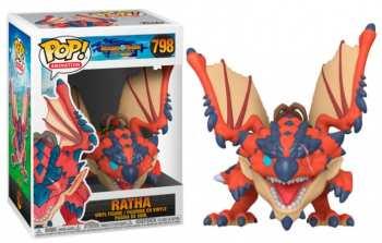 889698469371 Figurine funko Pop Animation  Monster Hunter - 798 - Ratha