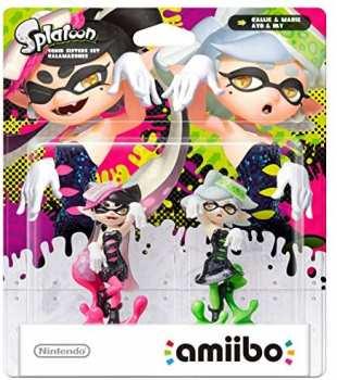 5510108302 Pack Amiibo Splatoon Callie Et Marie (Ayo Et Oly) Sans Boite