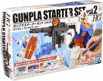 4573102574077 GUNDAM - HG 1/144 GUNPLA STARTER SET VOL.2 - MODEL KIT