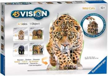 4005556180516 Puzzle 3D 4S Vidion Wildcats 10+ Ravensburger