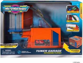191726375616 Garage Micro Machine Avec Station De Mise Au Point Serie 1